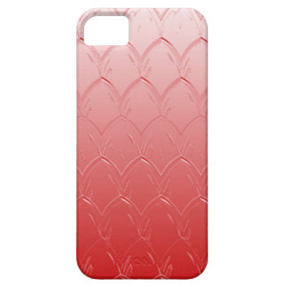 Light to Dark Red Scales iPhone 5 Cover