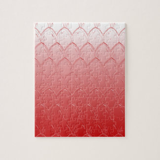 Light to Dark Red Scales Jigsaw Puzzle