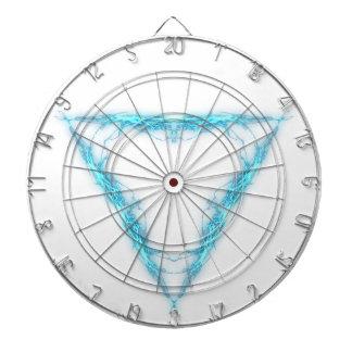 Light triangle dartboard