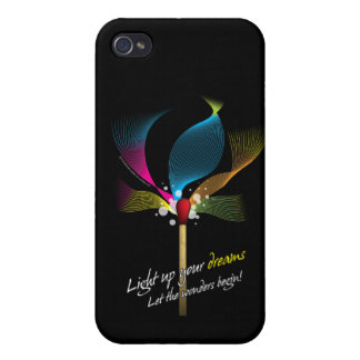 Light Up Your Dreams iPhone 4 Covers
