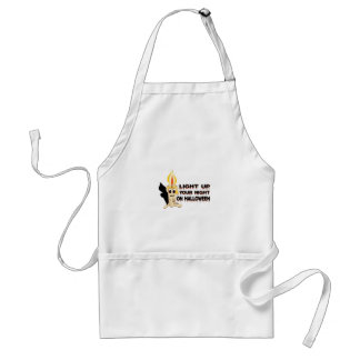 Light Up Your Night On Halloween Aprons