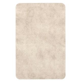 Light Vintage Parchment Antique Paper Background Rectangular Photo Magnet