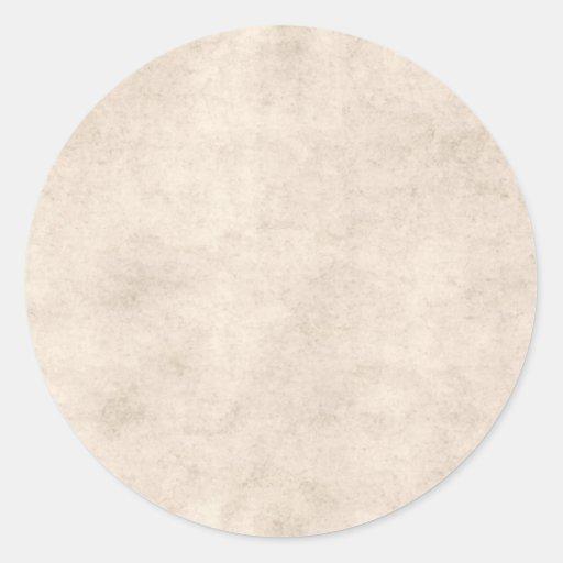 Light Vintage Parchment Antique Paper Background Stickers