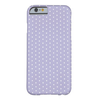 Light Violet Polka Dot iPhone 6 Barely There iPhone 6 Case