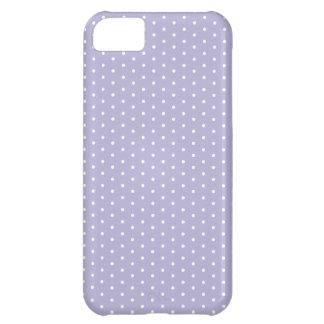 Light Violet Polka Dot iPhone Case For iPhone 5C