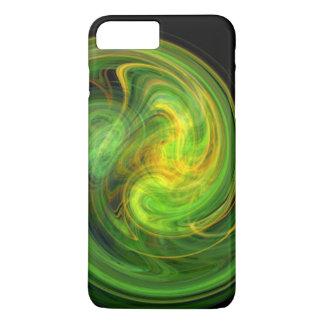 LIGHT VORTEX ,vibrant green iPhone 8 Plus/7 Plus Case