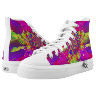 Light wave Womens Shoes Printed Shoes