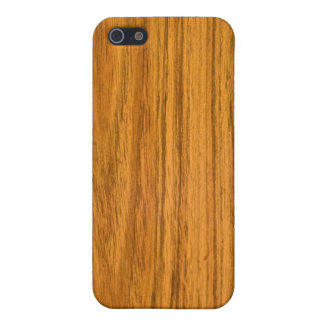 Light Wood Grain iPhone 5 Case