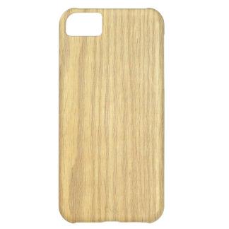 Light Wood Grain Veneer iPhone 5C Case