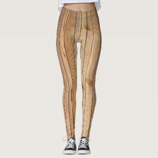 Light Wood Paneling Leggings