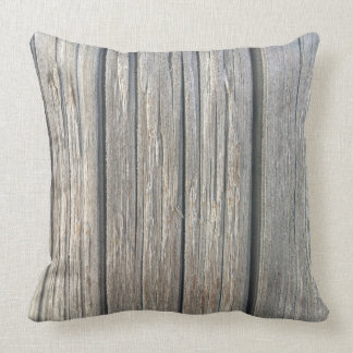 Light Wood Texture Throw Pillow