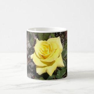 Light Yellow Rose Mug