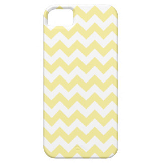 Light Yellow Zig Zag Pattern Barely There iPhone 5 Case