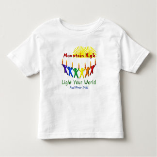 Light Your World Mountain High Toddler Tee Shirt