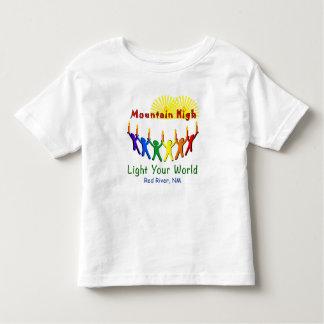 Light Your World Mountain High Toddler Tee Shirt