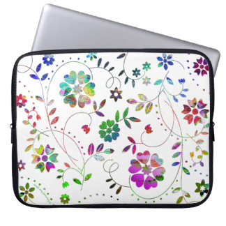 'LightBloom' Laptop Sleeve