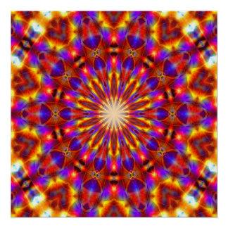 Lightbringer Mandala Poster