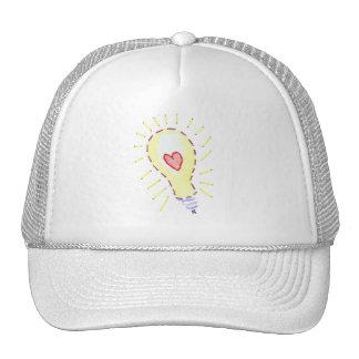 Lightbulb Bright Idea - Heart Hat