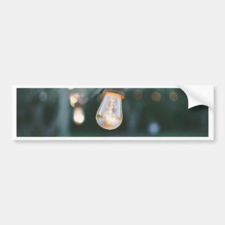 LightBulb Bumper Sticker