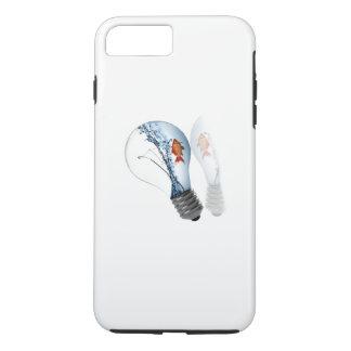 Lightbulb Goldfish Tank iPhone 7 Plus Case