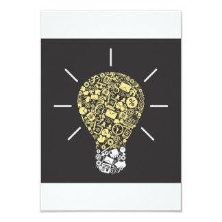 Lightbulb Idea Invitations