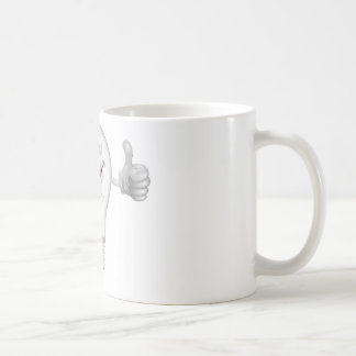 Lightbulb man coffee mug