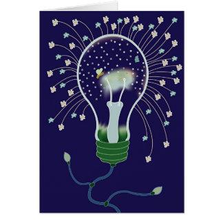 LightBulb Stars Card
