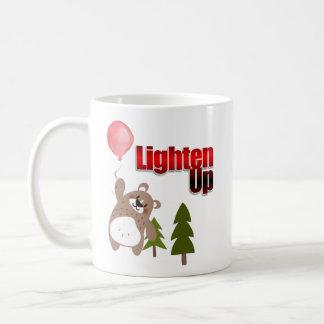 Lighten Up Bear with Balloon Coffee Mug