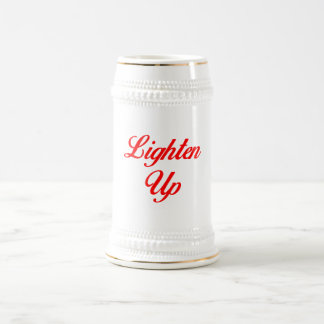 Lighten Up Beer Stein