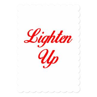 Lighten Up Card