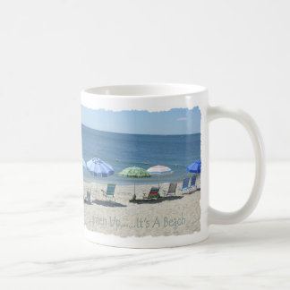 Lighten Up Mug, Guthrie Beach Coffee Mug