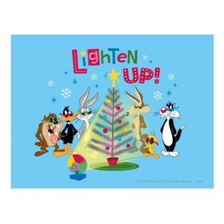 Lighten Up Post Card