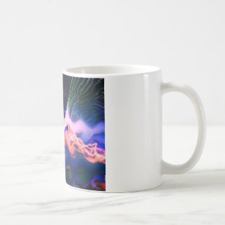 lightening above the waves coffee mug