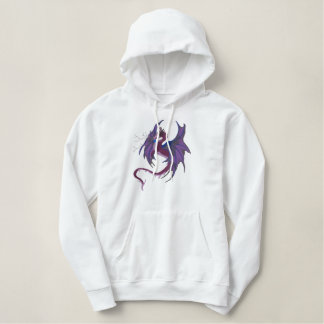 Lightening Dragon Embroidered Hoodie