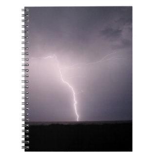 lightening strike notebook