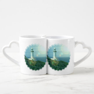 lighthouse-12 lovers mug set