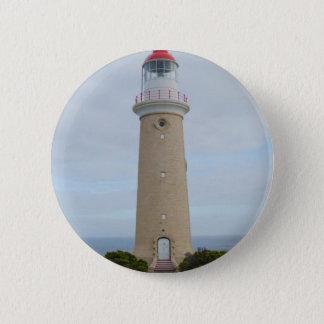 Lighthouse 6 Cm Round Badge