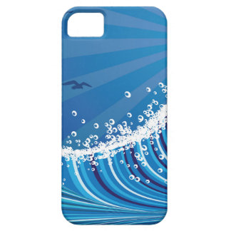 Lighthouse and Boat in the Sea 4 Barely There iPhone 5 Case