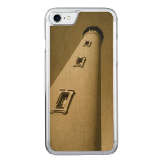 """Lighthouse"" Apple iPhone 7 Slim Maple Wood Case ☆"