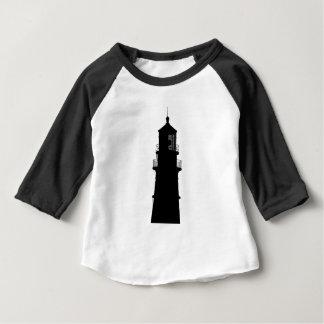 lighthouse art design black fashion baby T-Shirt