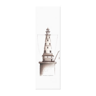 lighthouse art print 1, tony fernandes gallery wrapped canvas