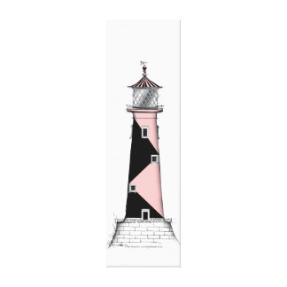 lighthouse art print 7, tony fernandes gallery wrapped canvas