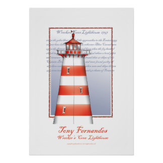 lighthouse art print no.2, tony fernandes