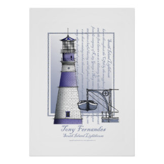 lighthouse art print no.3, tony fernandes