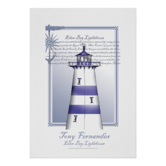 lighthouse art print no.5, tony fernandes