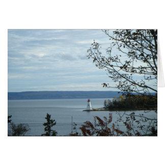 Lighthouse at Baddeck Card