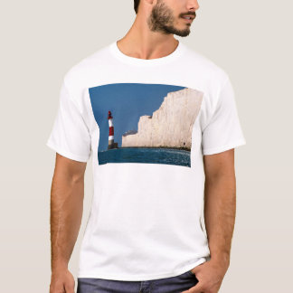Lighthouse at Beachy Head, Eastbourne, East Sussex T-Shirt