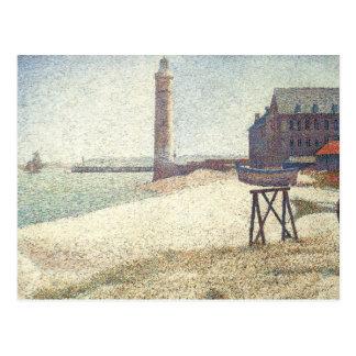 Lighthouse at Honfleur Postcard