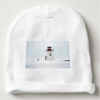 Lighthouse at Richards Landing Baby Beanie