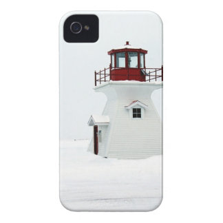 Lighthouse at Richards Landing iPhone 4 Covers